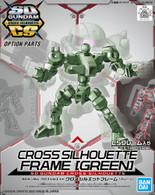 [OP-06] Cross Silhouette Frame {Green} (SDCS)