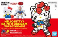 Hello Kitty & RX-78-2 Gundam (EX-Standard)
