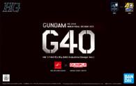 Gundam G40 {Indsutrial Design Ver.} (HGUC)