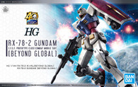 RX-78-2 Gundam [BEYOND GLOBAL] (HGUC)