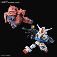 RX-78-2 Gundam & MS-06S Char's Zaku II Set (SDCS Gundam) **PRE-ORDER**
