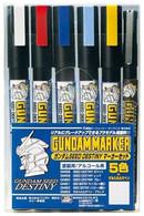 Gundam Marker Set - SEED Destiny Set 1 (GMS-114)