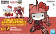 Hello Kitty/MS-06S Char's Zaku Ⅱ  (SDCS Gundam)