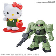 [SDCS GUNDAM ] HELLO KITTY/ZAKU Ⅱ  **PRE-ORDER**