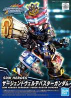 #003 Sergeant Verde Buster Gundam [SD Gundam World Heroes] (SD)