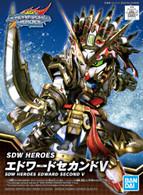 #005 Edward Second V [SD Gundam World Heroes] (SD)