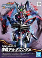 #006 Sasuke Delta Gundam [SD Gundam World Heroes] (SD)