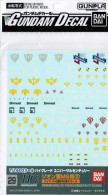 #029 Gundam Decal Set for MS [Principality of Zeon] 02 (Gundam Decal)