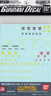 #028 Gundam Decal Set for MS [Principality of Zeon] 01 (Gundam Decal)