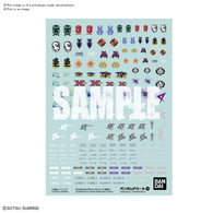 #124 Gundam Build Diver Series Multiuse [1] (Gundam Decal) **PRE-ORDER**