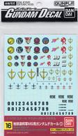 #016 Gundam Decal Set for MS [Earth Federation Space Force] 01 (Gundam Decal)