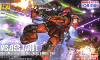 #013 Char Aznable`s Custom Zaku I [THE ORIGIN] (HG)