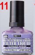 Filter Liquid Violet (WC11) [Mr. Weathering Color Paint]