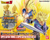 Super Saiyan Trunks & Super Saiyan Vegeta {DX Set: Father Son Duo} [Dragon Ball Z] (Figure-rise Standard)