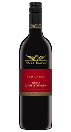 Wolf Blass Red Label Cabernet Shiraz (75cl)