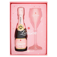 Lanson Rose Label NV x 1 Flute Pack (20cl)