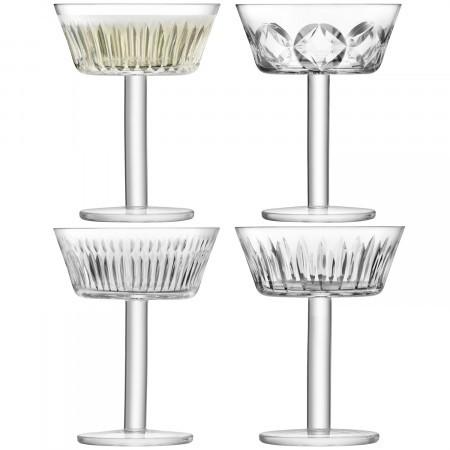 LSA Tatra Cocktail Glass 150ml (Set of 4)