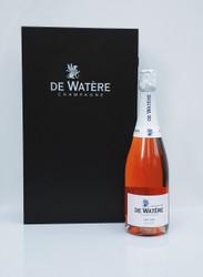 De Watere Cuvée Premier Cru Brut Rosé de Saignée In Wood Box (75cl)