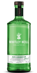 Whitley Neill Aloe and Cucumber Gin (70cl)