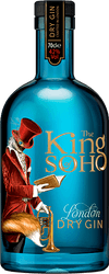 King Of Soho London Dry Gin (70cl)