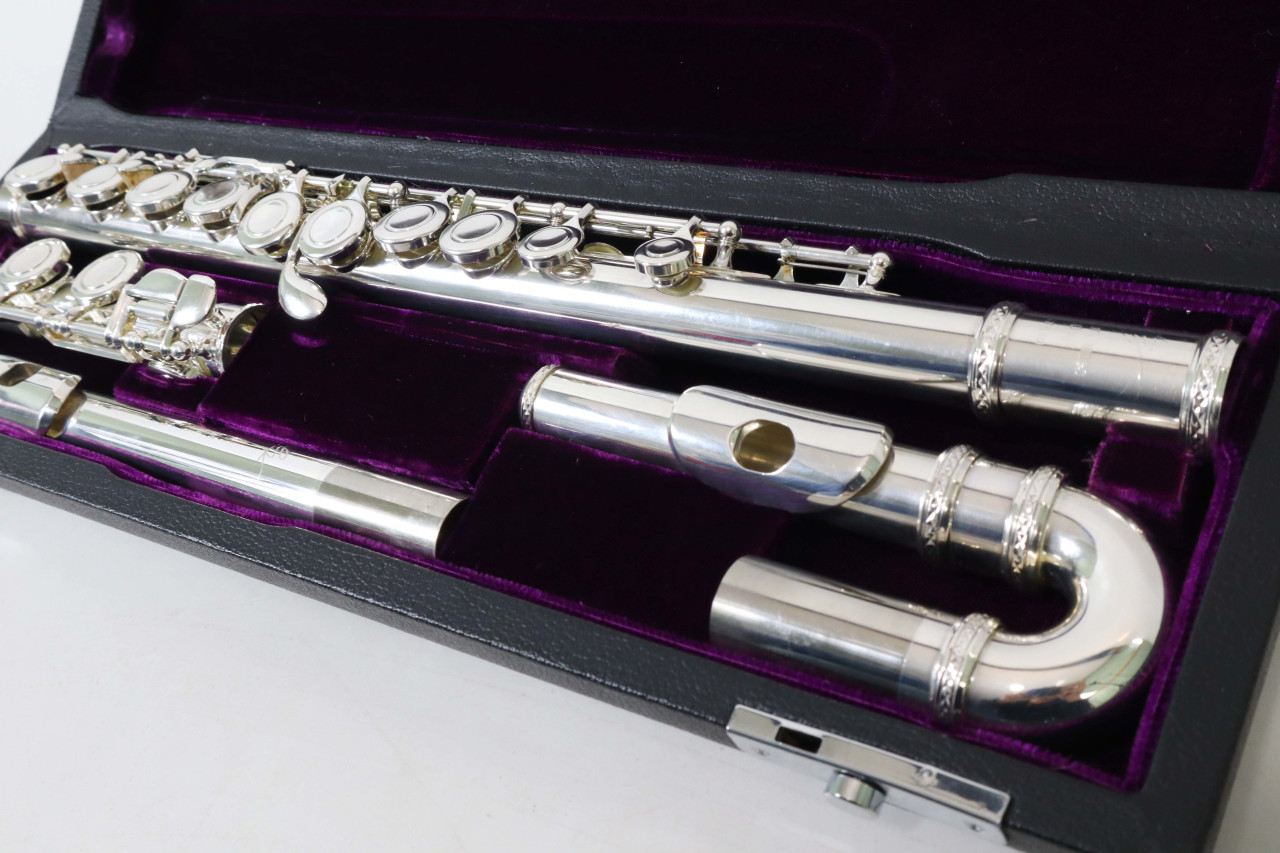 TREVOR JAMES 10XE FLUTE (CURVED & STRAIGHT HEAD JOINTS) - REFURBISHED 2