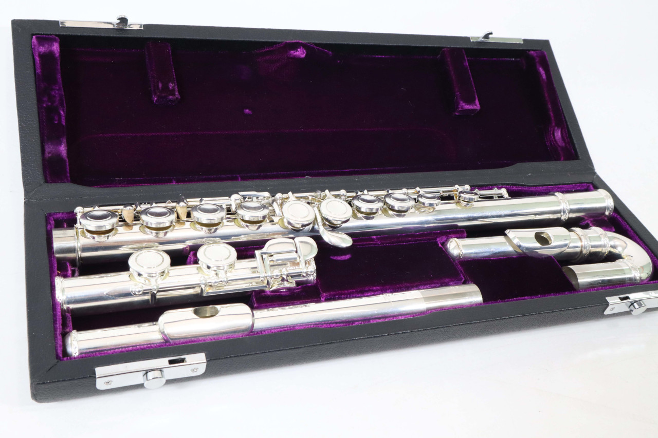 TREVOR JAMES 10XE FLUTE (CURVED & STRAIGHT HEAD JOINTS) - REFURBISHED 1