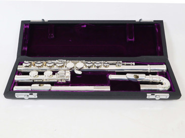 TREVOR JAMES 10XE FLUTE (CURVED & STRAIGHT HEAD JOINTS) - REFURBISHED