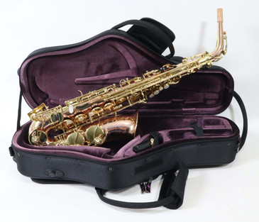 TREVOR JAMES SR ALTO SAXOPHONE - BRONZE BODY (374SR-ZK)