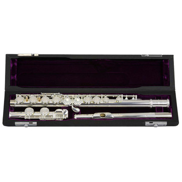 TREVOR JAMES TJ10X FLUTE - CS 925 SILVER LIP PLATE AND RISER (3041EASLRW) 3