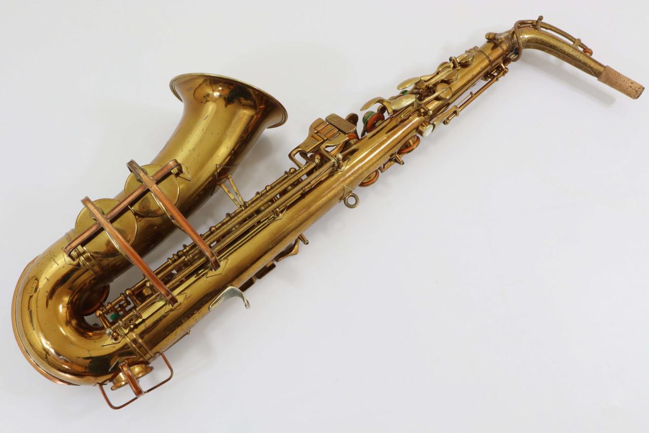 "BUESCHER ""BIG B"" ARISTOCRAT ALTO SAX c.1949 - REFURBISHED 5"