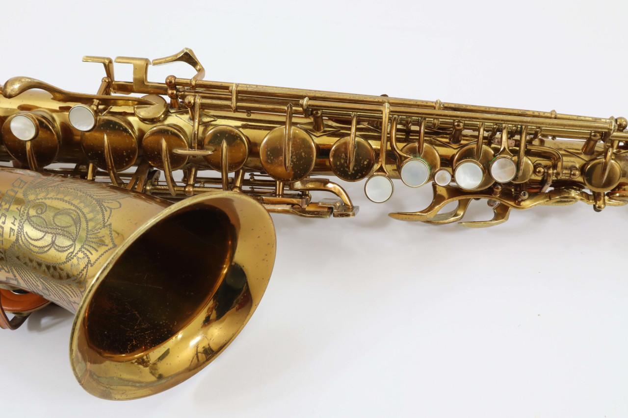 "BUESCHER ""BIG B"" ARISTOCRAT ALTO SAX c.1949 - REFURBISHED 7"