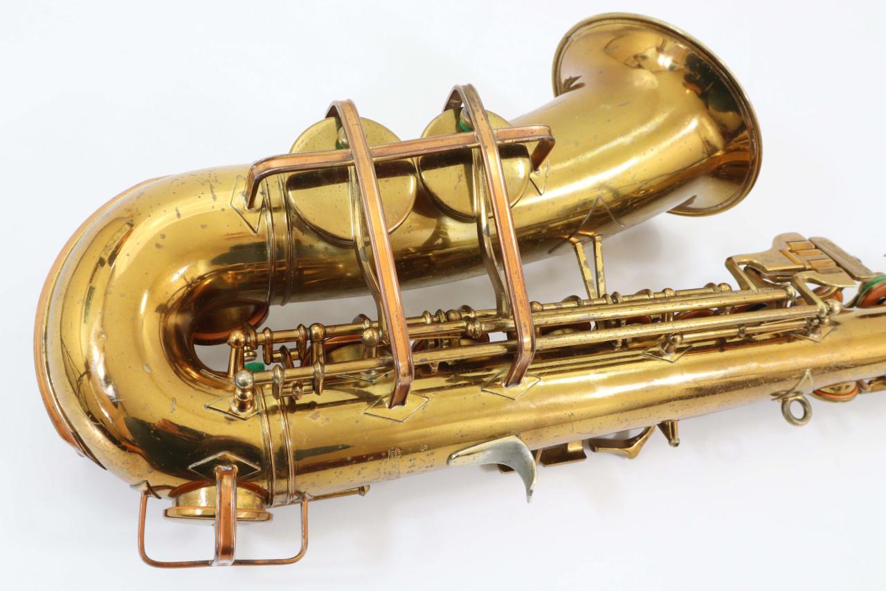 "BUESCHER ""BIG B"" ARISTOCRAT ALTO SAX c.1949 - REFURBISHED 11"
