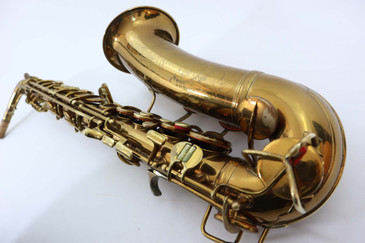 "CONN ""6M STYLE/ TRANSITIONAL"" ALTO SAX c. 1932 - REFURBISHED"