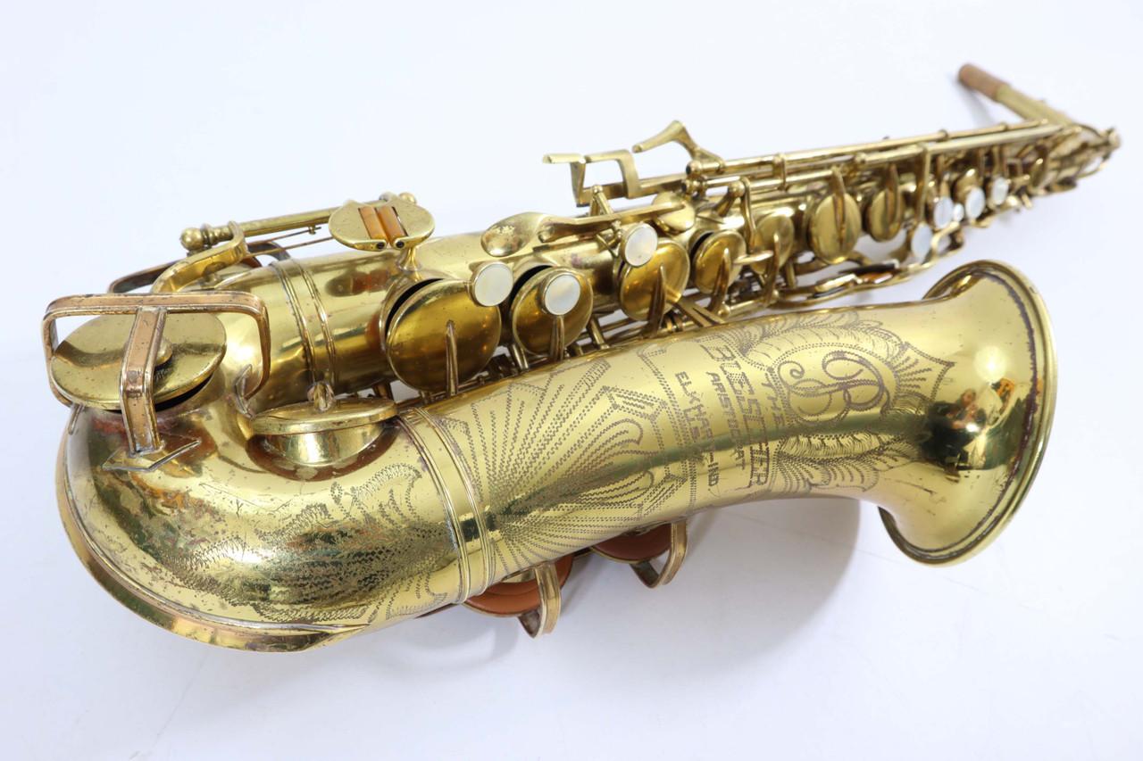 Buescher Big B alto saxophone refurbished 1