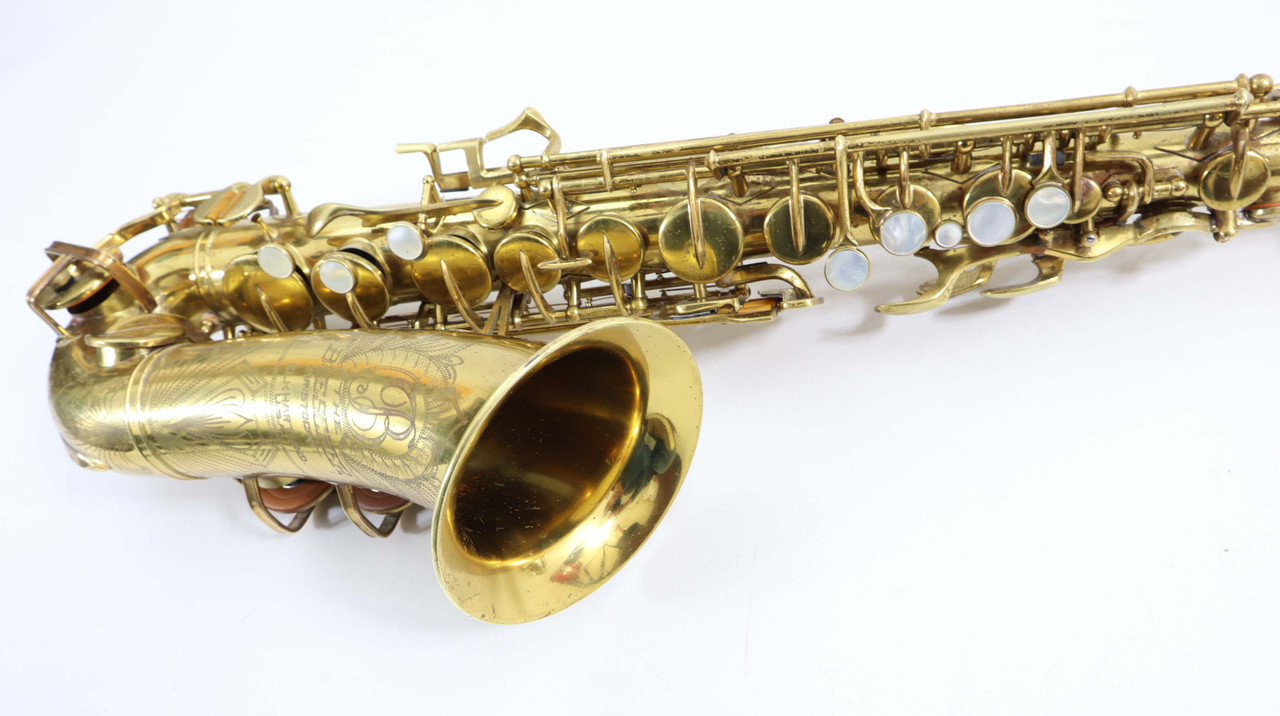 Buescher Big B alto saxophone refurbished 6