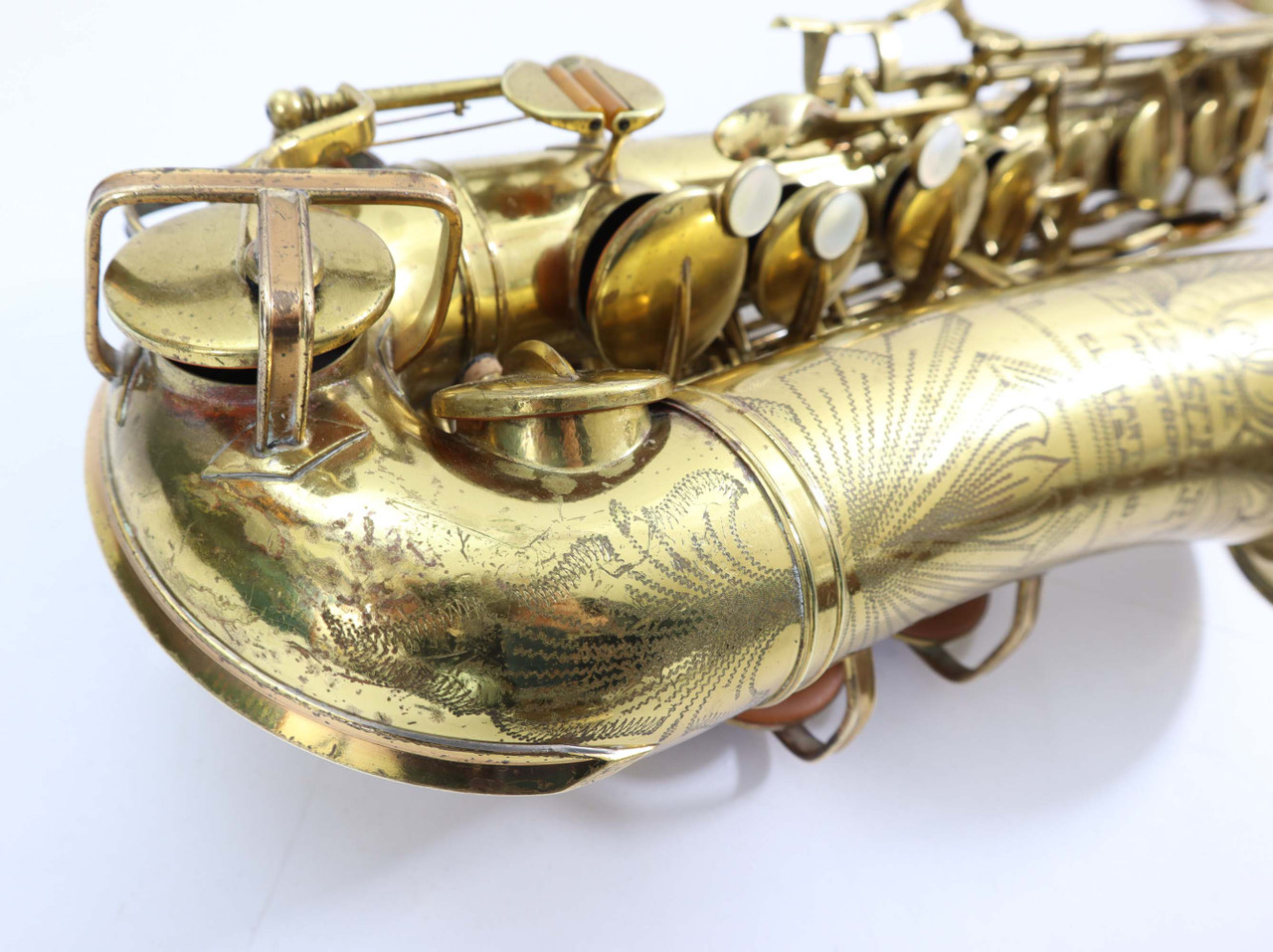 Buescher Big B alto saxophone refurbished 7