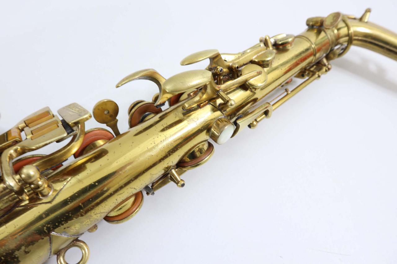 Buescher Big B alto saxophone refurbished 10