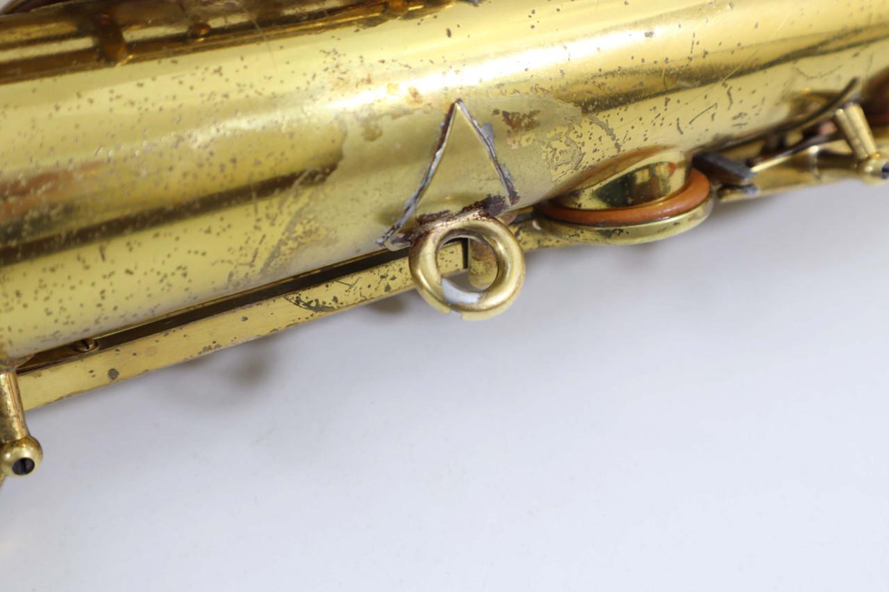 Buescher Big B alto saxophone refurbished 11