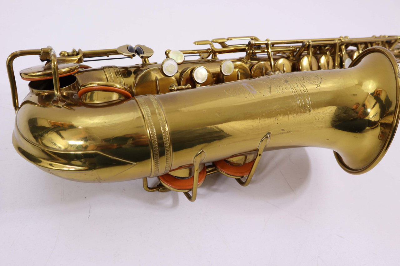 "SELMER ""CIGAR CUTTER"" c.1933 ALTO SAX - REFURBISHED 6"