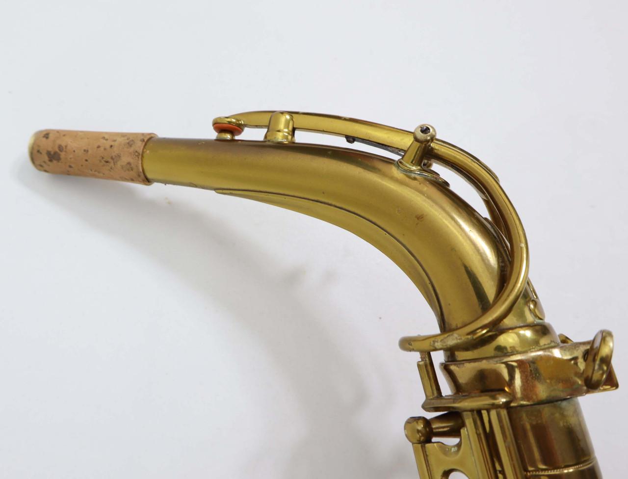 "SELMER ""CIGAR CUTTER"" c.1933 ALTO SAX - REFURBISHED 7"