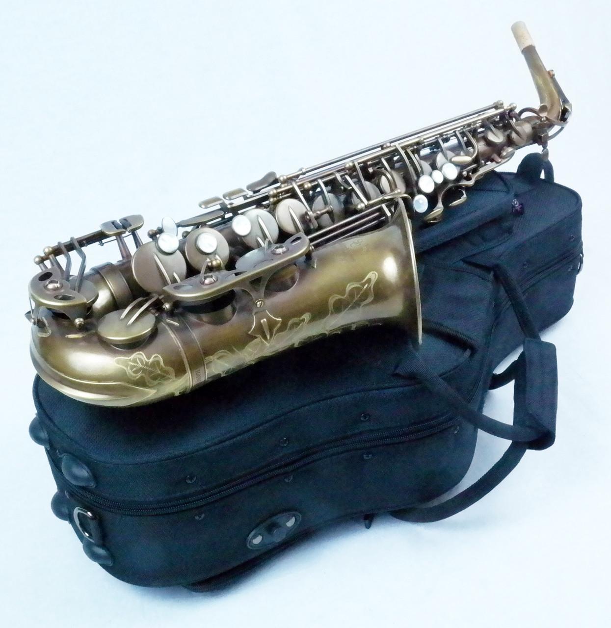 signature custom RAW alto saxophone 2