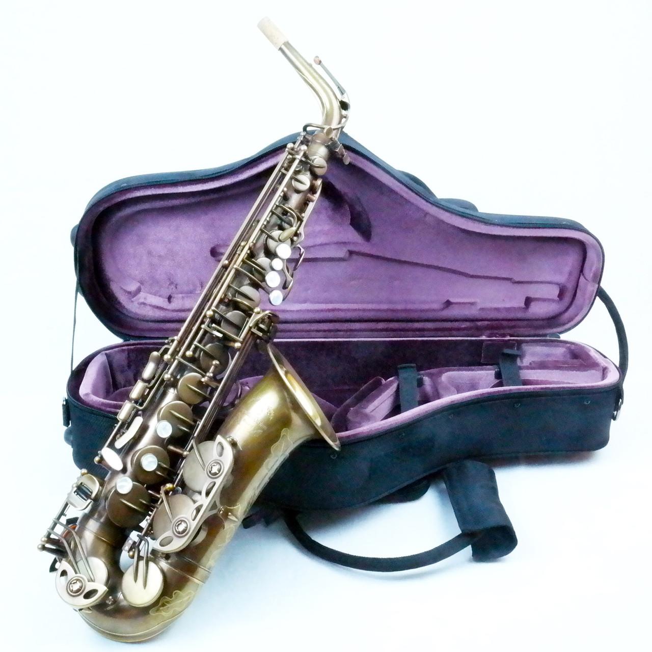 signature custom RAW alto saxophone 1