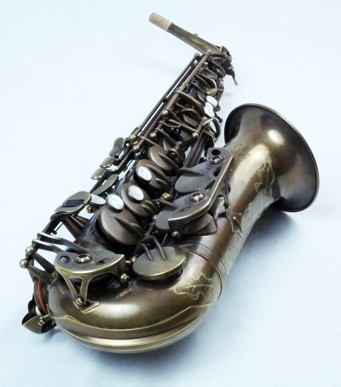 signature custom RAW alto saxophone 3
