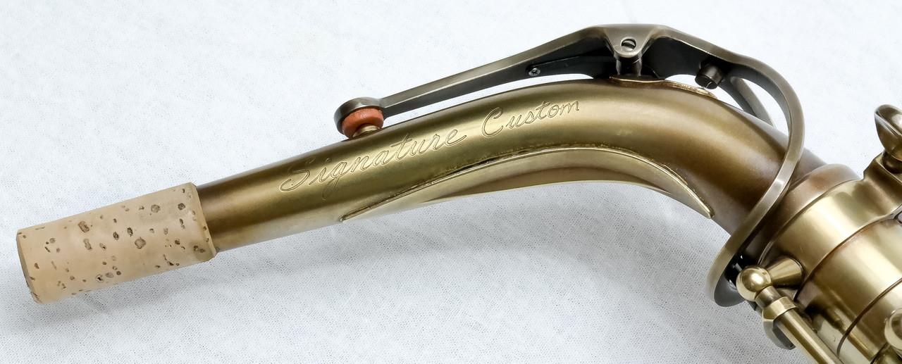 signature custom RAW xs alto saxophone 1