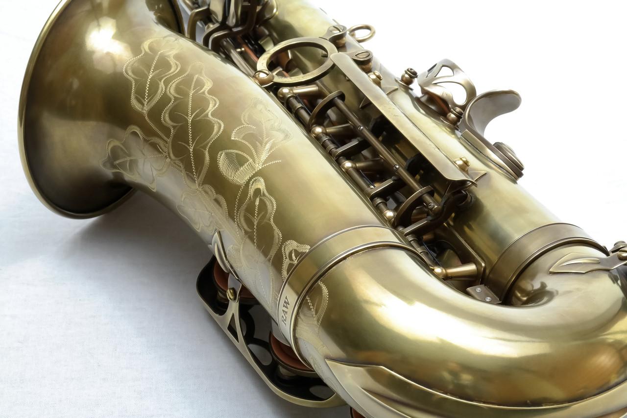 signature custom RAW xs alto saxophone 3