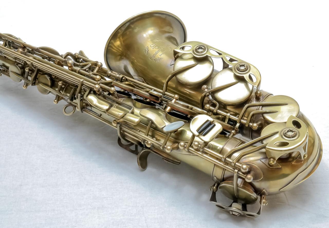 signature custom RAW xs alto saxophone 4