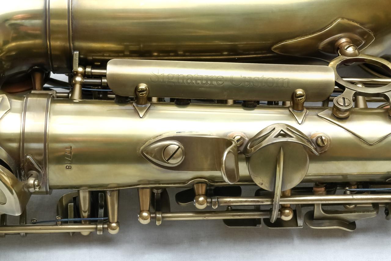 signature custom RAW xs alto saxophone 5