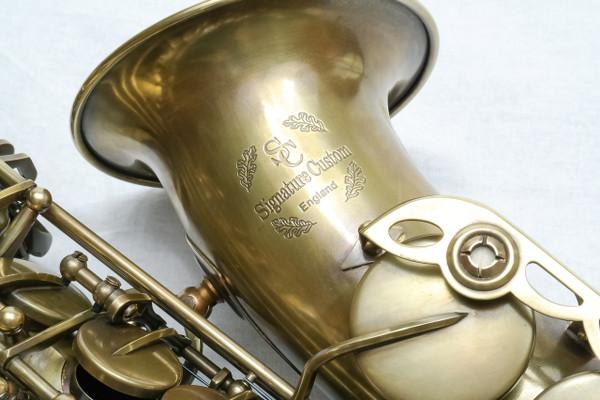 signature custom RAW xs alto saxophone