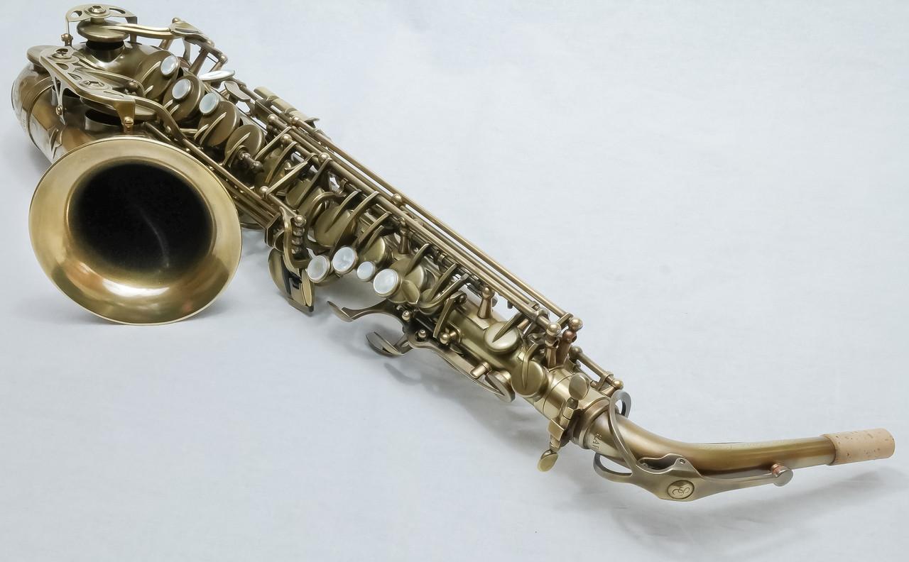 signature custom RAW xs alto saxophone 7