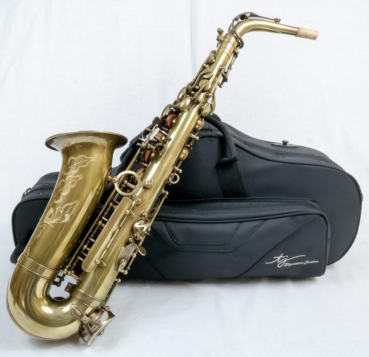 signature custom RAW xs alto saxophone 9